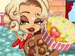 طبخ شوكولا الفالنتين