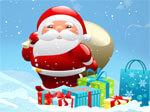 شاحنة سانتا للهدايا